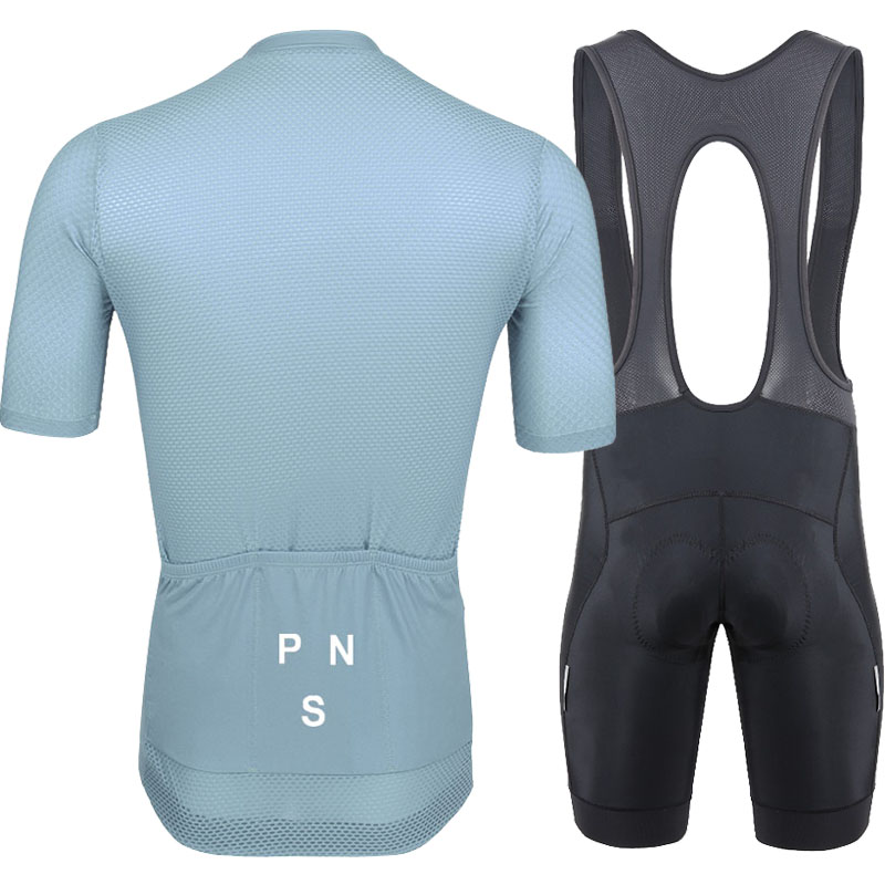 High grade 2019 grey cycling suit short sleeve suit mountain cycling suit short pants equipped with cycling clothes