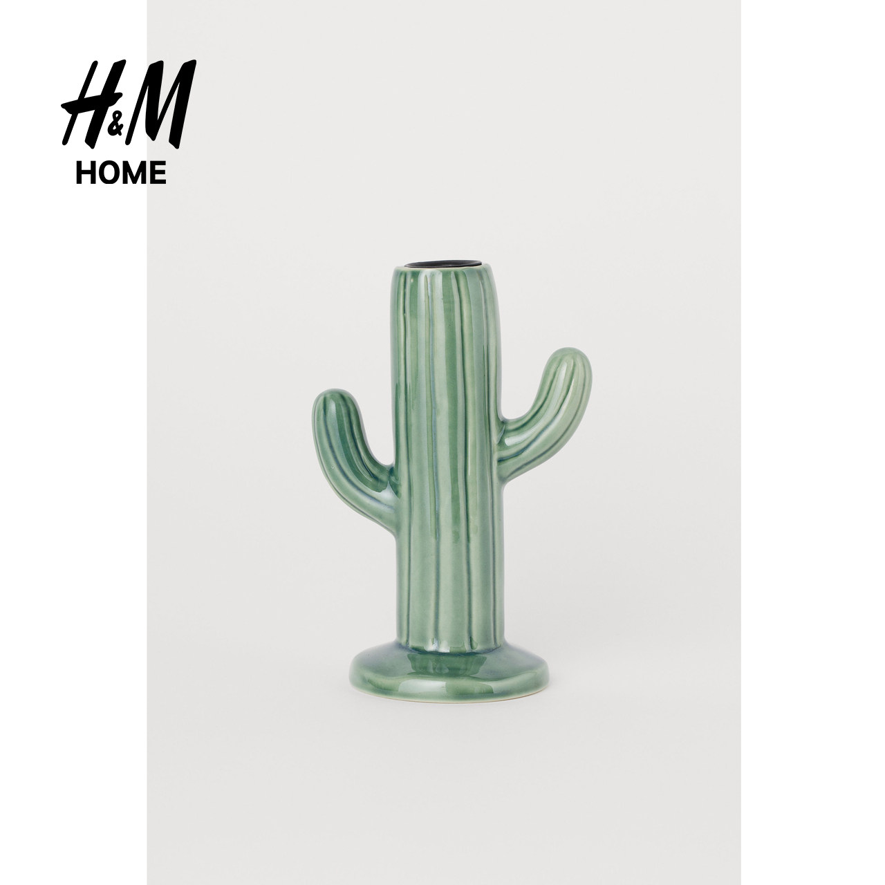 New Creative Simple European Cactus Ceramic Candleholder HM0749458