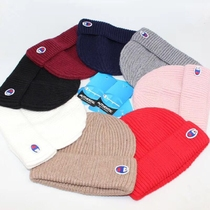 Champion champion wool hat cold hat melon hat knitted hat net red hip-hop street Kid Milli same section