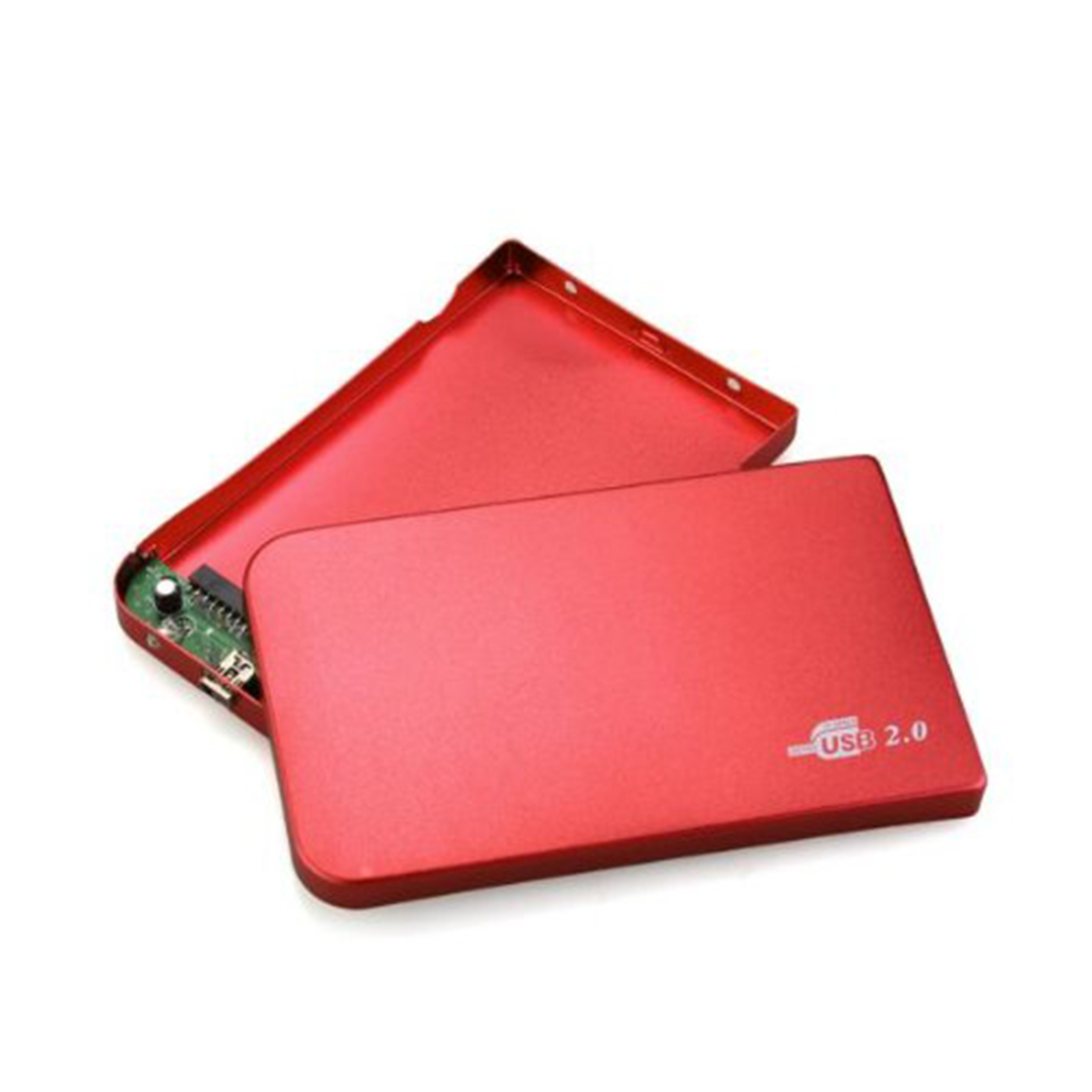 [The goods stop production and no stock]2.5 hard drive, Red External Hard Drive Disk Enclosure 2.5 Inch Usb 2.0 Ide
