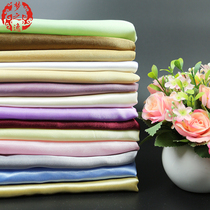 Manufacturers of thin transmittance five-American satin lining box cloth Five satin curtains lined with gauze color ding 2.8 meters