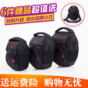 Canon SLR camera bag 700D70D80D 60D750D200D77D shoulder portable waterproof camera bag