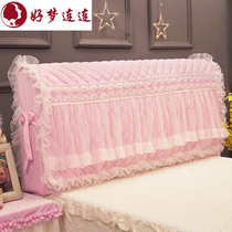 Han Xi Princess lace bedside sleeve bed cover thickening dust cover leather bed disassembly and washing plank bed cover fabric