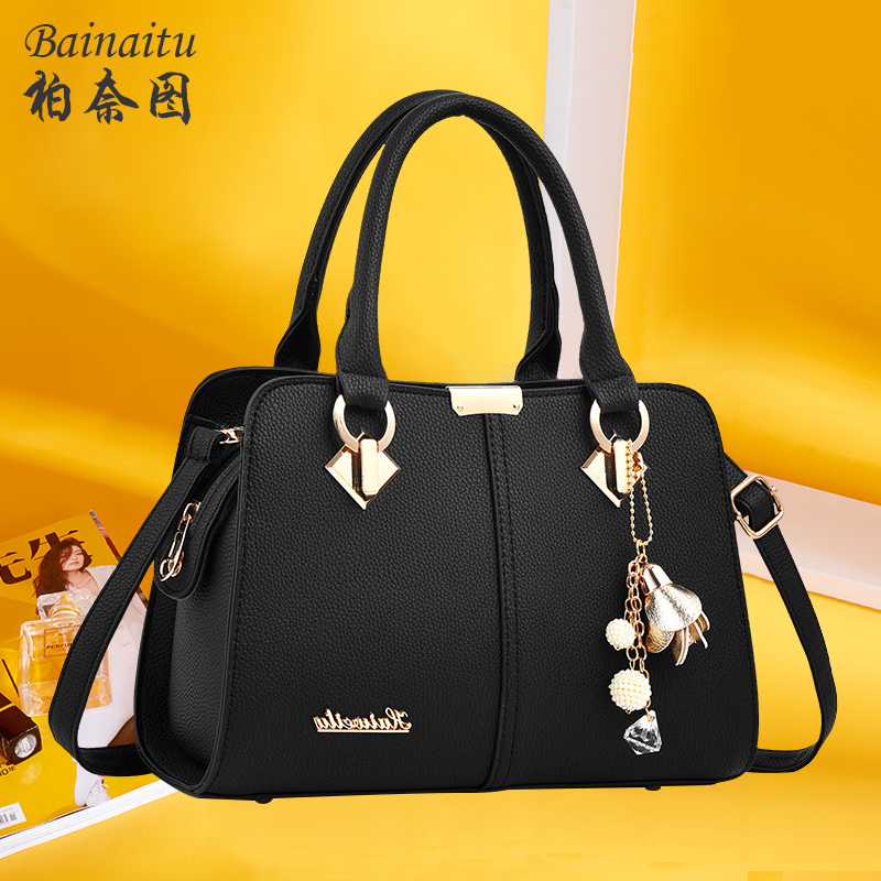Fashion Slant Single Shoulder Bag and Girl Bag 2019 New Mom Bag Baitao Lady Bag and Handbag with Large Capacity