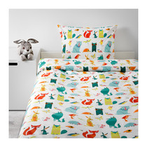 Ikea Ikea Wuxi la Special Olympics quilt Cover and pillowcase animal 403.510.10