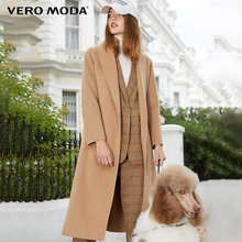 Vero Moda Spring 2009 New Turn-lapel Slim Wool Wool Wool Wool Overcoat for Women 319127511
