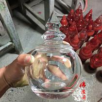 Натуральный большой белый кристалл Водолей коллекция для закрепления реликвии Мана Кристалл башня ступа украшения связывание Будды инструменты