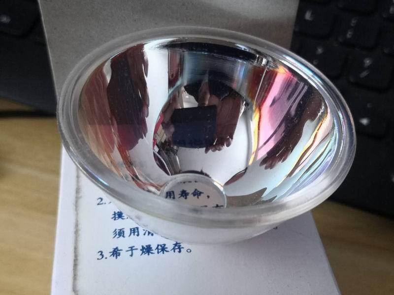Cinema machine accessories-new inventory 16mm indium lamp movie projector reflector bowl diameter 65mm lamp bowl