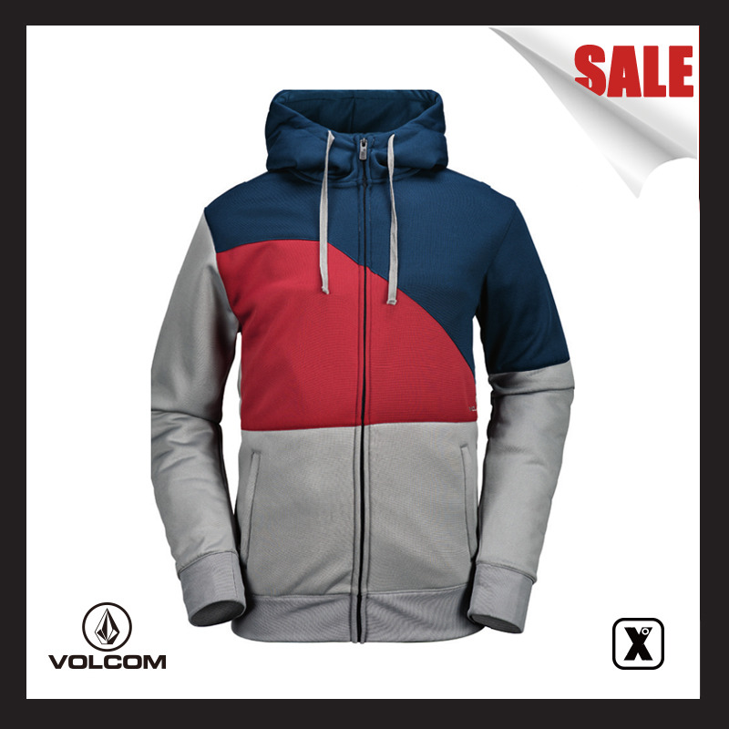 Vulnerable [EXDO] 17-18 Volcom Men's snowboarding suit/hoodie jacket A.I.B.