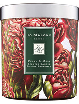 British purchasing Jo Malone Zuma long fragrance candle charity peony Iris White