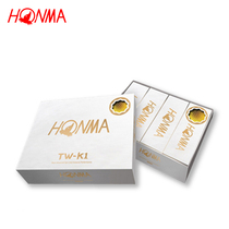 Genuine Authorization Honma Golf three-storey ball brand new authentic TW-K1 contains a golden Ball
