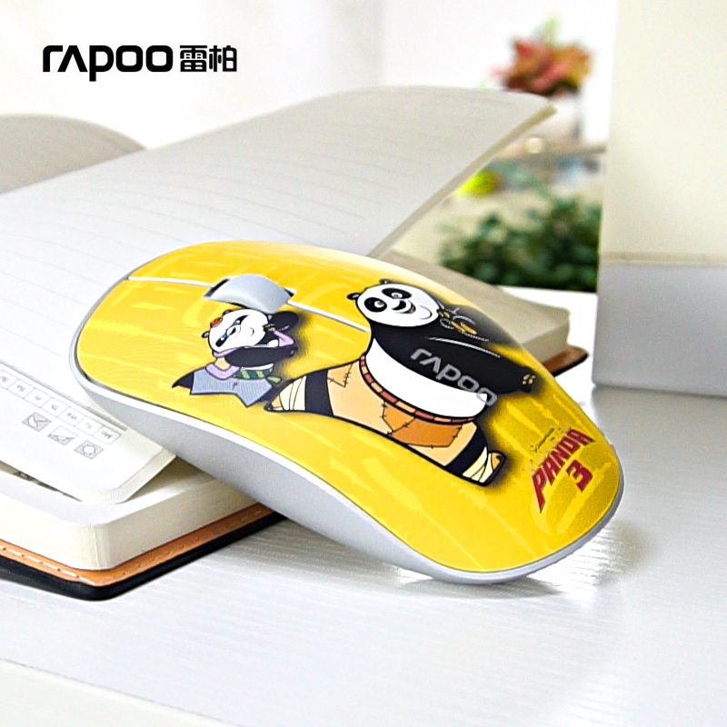 Pennefather 3500P thin and light wireless mouse computer notebook power-saving cartoon mouse office games Pennefather 3500P thin and light wireless mouse computer notebook power-saving cartoon mouse office games