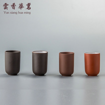 Yixing genuine Kung Fu Tea with a single product purple sand smell incense Cup scented Cup single cup small cup straight Cup