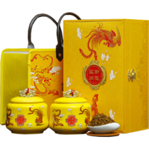 Jinjunmei Black Tea Canned in Tongmuguan Race, Wuyi Mountain, Jinjunmei Super-Class Authentic Luzhou-Fragrance Gift Box
