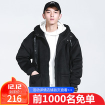 28 Pure Color hooded students casual fashion coats
