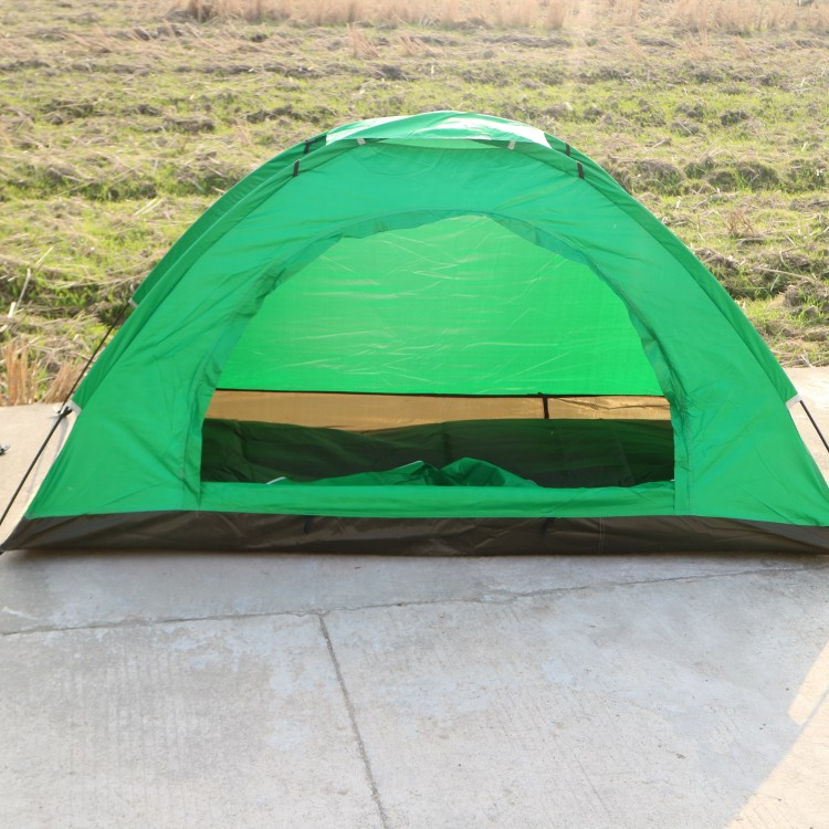 Single Tent, Rain-proof, Single Tent, Outdoor Camping, Ultra Light Tourist Camouflage, Rain-proof and Wind-proof Tent