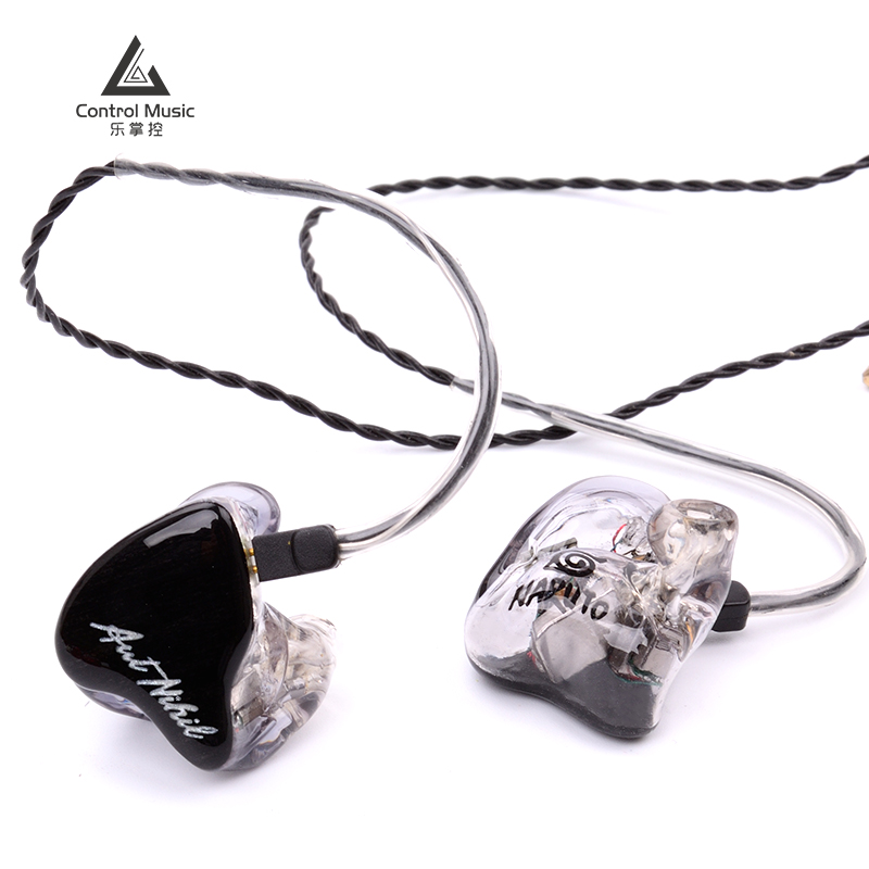 Lecon Noise Reduction Hifi Fever Live Broadcast Ear-type 8-unit Movable Iron Customized Earplugs Public and Private Model HIFI Headphones