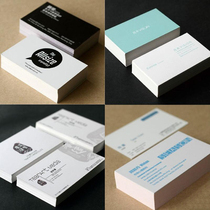 Self-contributed business card printing personality business Card making QR Code business card color business card design and printing
