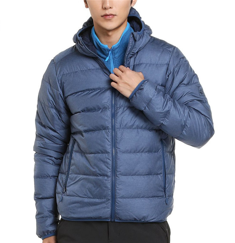 Winter Jackwolfskin Wolf Claw Male Outdoor Waterproof Sports Hooded Warm Down Jacket 1202451
