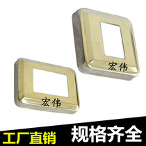 201 Stainless steel Square decorative cover staircase handrail cover decorative accessories square trim Gueffont cover ugliness cover
