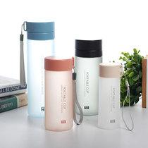 Матовая пластиковая чашка с разделением чая INS Wind для мужчин и женщин портативная чашка для воды корейская версия простая спортивная чашка большой емкости