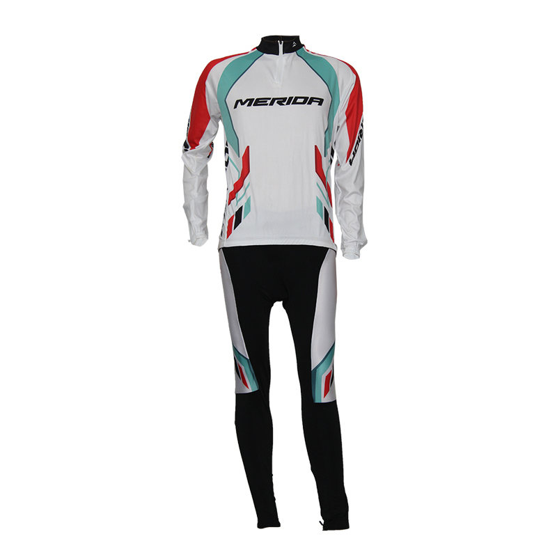 Merida cycling suit bicycle spring and summer long sleeve freestyle bicycle sports equipment genuine package
