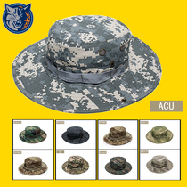 Summer Outdoor Special Forces camouflage hat running Nick hat men battle round shade hood sunscreen fishing cap Army fan men and women