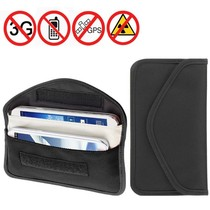 New universal double phone anti-radiation signal shielding bag shielding bag mobile phone rest bag 5 5 inch 6 inch