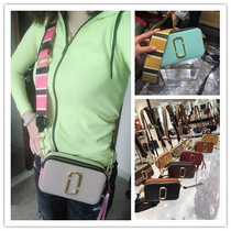 Genuine purchasing Marc Jacobs Camera bag 18 new color small square package Broadband single shoulder diagonal MJ Bag