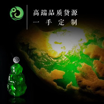 Raw stone wool natural jadeite raw stone Burmese jade semi-bright material old pit ice type kg material