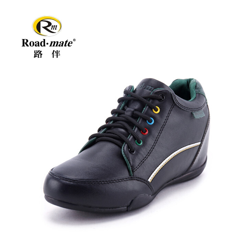Road with women's shoes in the winter thick bottom increased sports women's shoes casual leather fashion wild Korean women's shoes