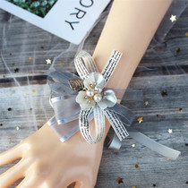 Wrist flower bridesmaid Korean-style small fresh super Xiansen simple bride sister group wedding hand-wringing wedding