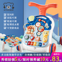 Toddler toddler stroller to help step baby toys children multi-functional anti-o-type leg 3 anti-side roll 6-12 months