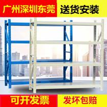 Стеллаж-дисплей монтаж многоэтажный Склад Склад Склад съемный подвал для хранения тяжелых железных стеллажей