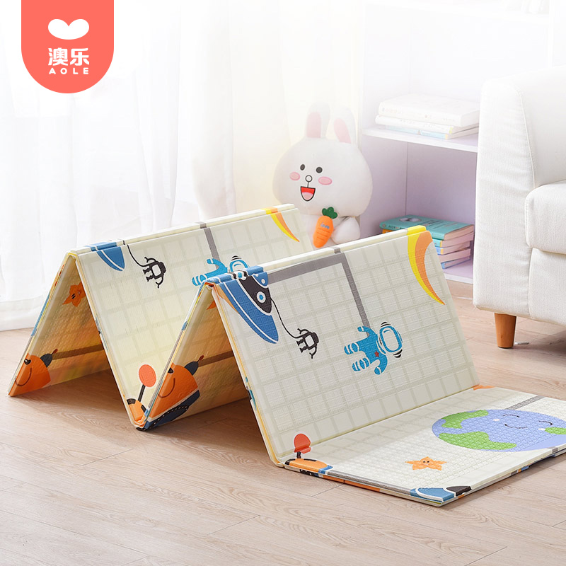[Members] AOLE Folding Crawler Pad Thickening Baby Living Room XPE Crawler Pad Children's Home Baby Play Pad