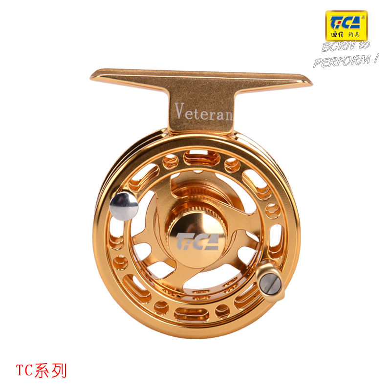 Diejia TC60 double groove reeler Aluminum alloy front wheel