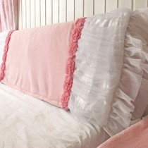 Beautydream home Princess Wind pink delicate short plush lace lace bedside cover bed dust cover