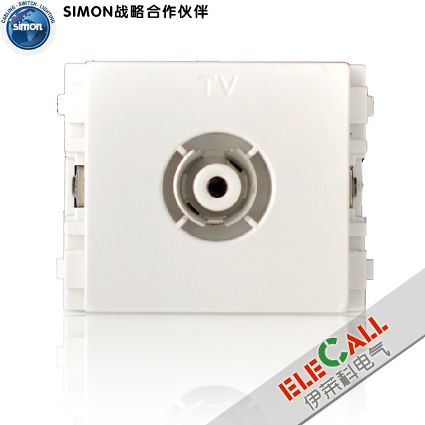 Simon switch 32 series 1/2 bit TV terminal socket function TV (1/2)