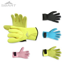 Adult New diving gloves non-slip gloves winter swimming gloves snorkeling equipment with Velcro closure