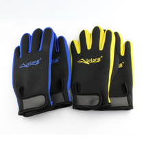 Lelang Sports Snorkeling gloves with magic stickers comfortable diving surf water skiing gloves couple gloves diving materials