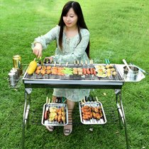 Grill household 5-15 persons more than charcoal grill BBQ tool King complete set