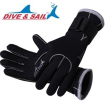 3MM Diving Gloves Adult men and women anti-skid anti-cutting injury winter swimming underwater operation warm hand webbed snorkeling equipment