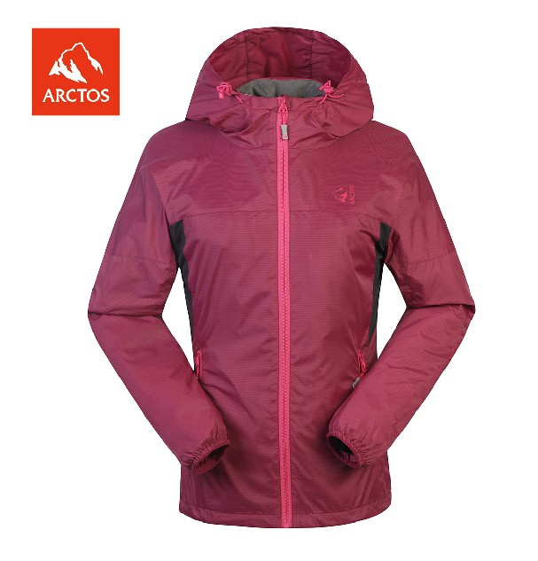 ARCTOS Polar Star Female Outdoor Shadow Stream Leisure Jacket AGJA22215 Wind-proof and Warm Jacket in Autumn and Winter