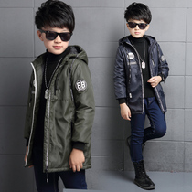 Pupils in Korean windbreaker jacket belt new long bi-fold wallets in 12 to 13 to 14 boys 15 spring 16