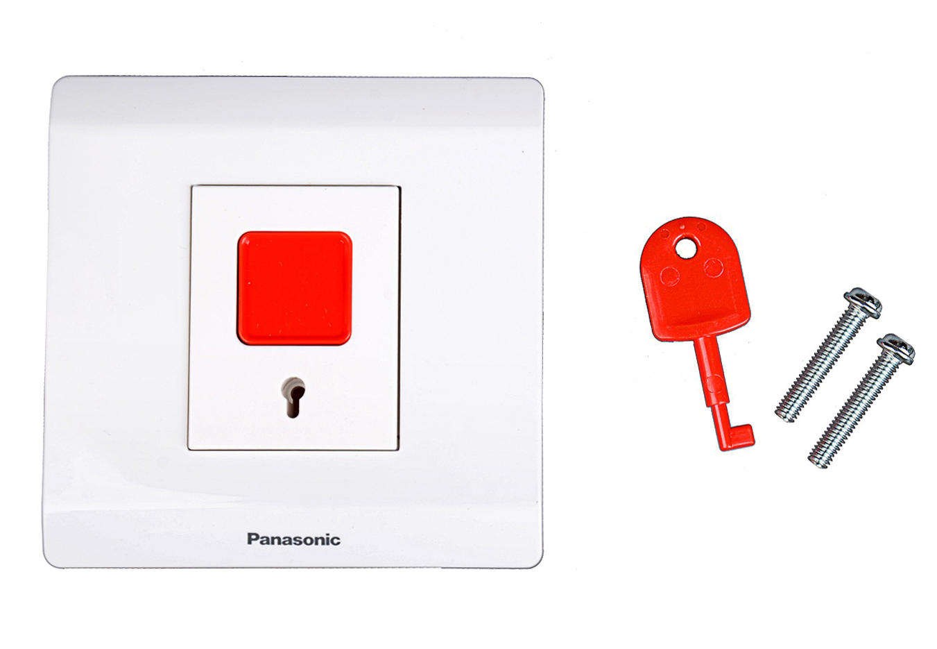 Panasonic switch socket panel genuine Monopoly / Panasonic alarm button switch Panasonic emergency button switch