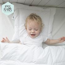 fossflakes进口 全棉婴儿枕头婴儿被优质婴儿两件套