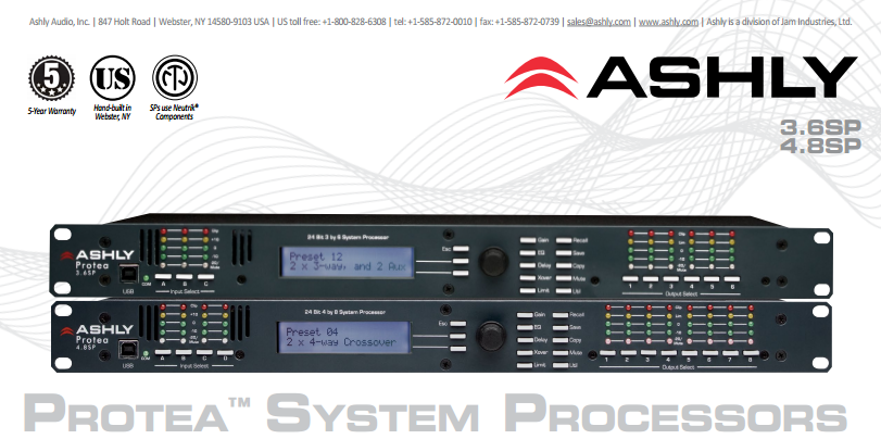 375 00] LAX Ruifeng DSP48 4 In-8 Out Digital Audio Processor