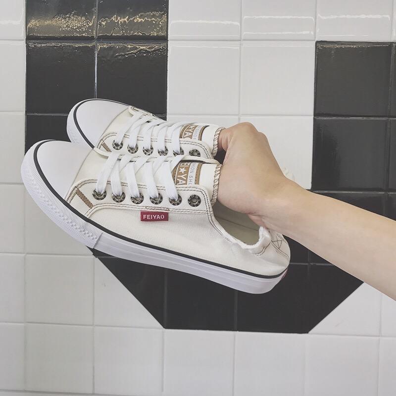 Giày lười nam, bằng vải nhẹ nhàng