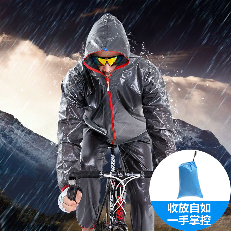 Dilux Outdoor Fashion Rainwear Riding Camping Rainwear Waterproof Camping Rainwear Riding