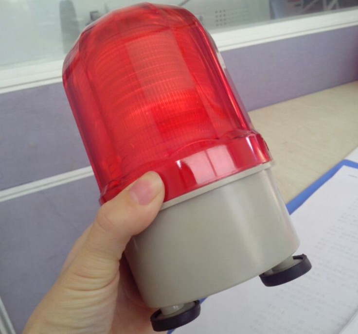 [The goods stop production and no stock]Magnetically suction roof-suction acoustooptic alarm for Nanyi forklift Ltd-5101J LED stroboscopic alarm flashing warning lamp